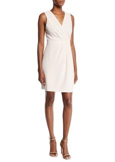 Club Monaco Winhona Draped V-Neck Sleeveless Dress