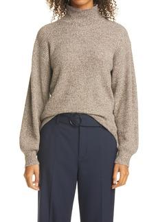 Women's Club Monaco Marled Turtleneck Sweater