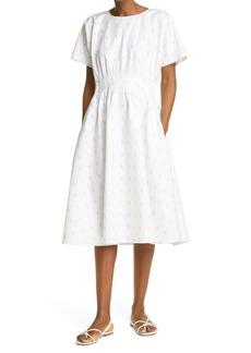Women's Club Monaco Print Flare Dress