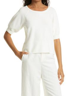 Women's Club Monaco Puff Sleeve Sweater