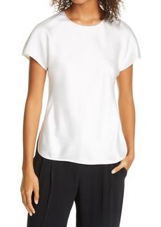 Women's Club Monaco Satin T-Shirt