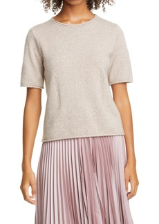 Women's Club Monaco Short Sleeve Cashmere Sweater