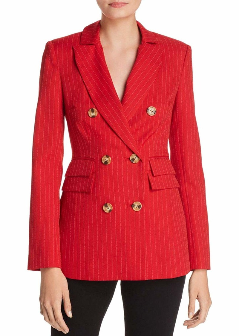 C/MEO COLLECTIVE Women's Go from Here Double Breasted Fashion Blazer Jacket  s