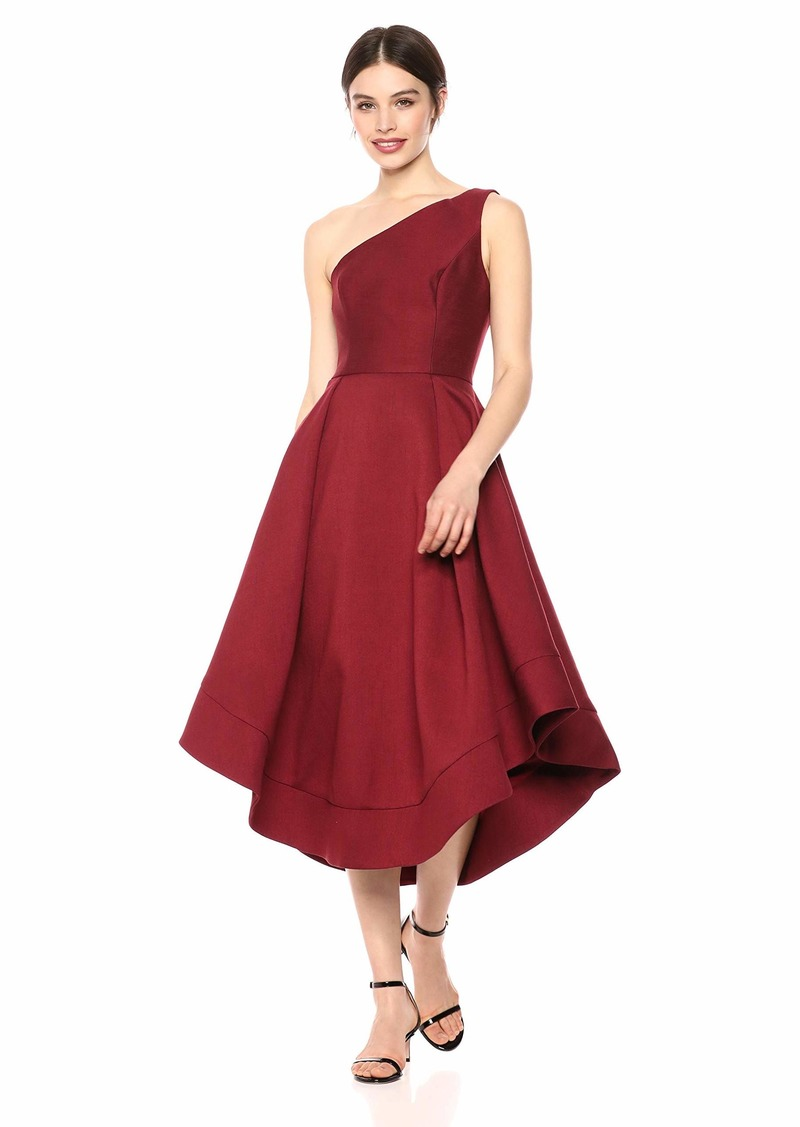 C/MEO COLLECTIVE Women's Making Waves Strapless High Low Fit and Flare Party Dress  m