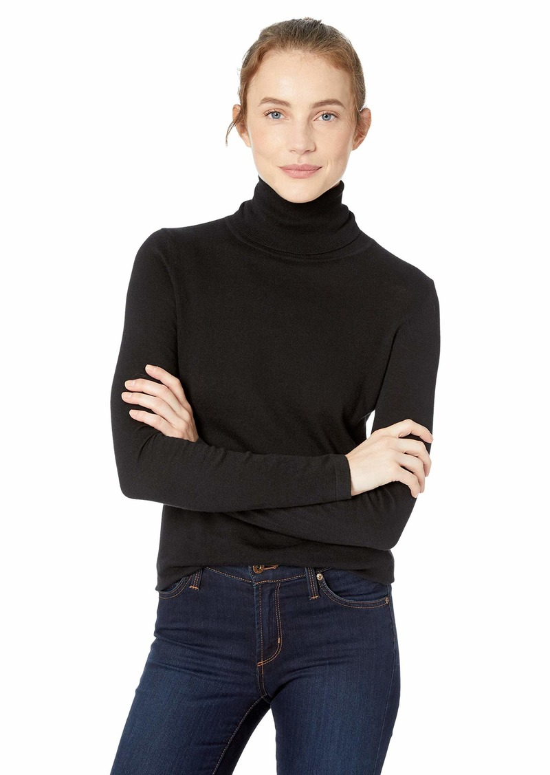 C/MEO COLLECTIVE Women's New Rules Turtle Neck Knit Top  M