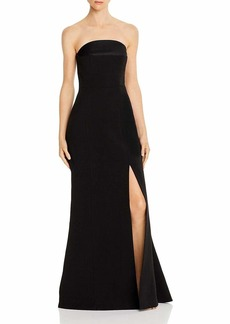 C/Meo Collective Women's Next Step Strapless Long Maxi Trumpet Gown Dress  M