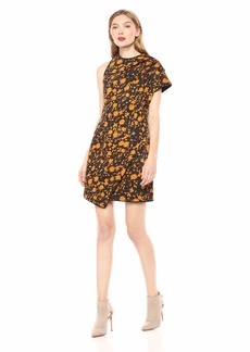 C/MEO COLLECTIVE Women's ONLY with You Short Sleeve Floral Mini Dress  S