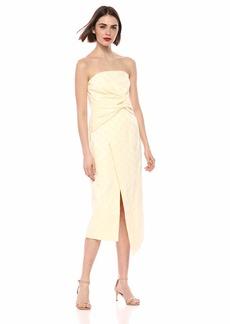 C/Meo Collective Women's Strapless MIDI Sheath Dress  S