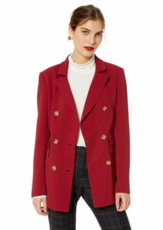 C/Meo Collective Women's Visceral Double Breasted Notch Collar Blazer  S