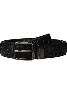 Coach 38 mm CTS Harness Belt in Signature Leather