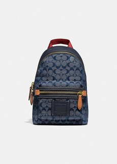 Coach academy pack in signature chambray