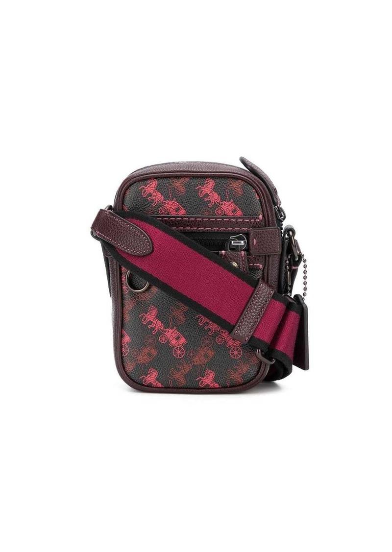 Coach all-over print messenger bag