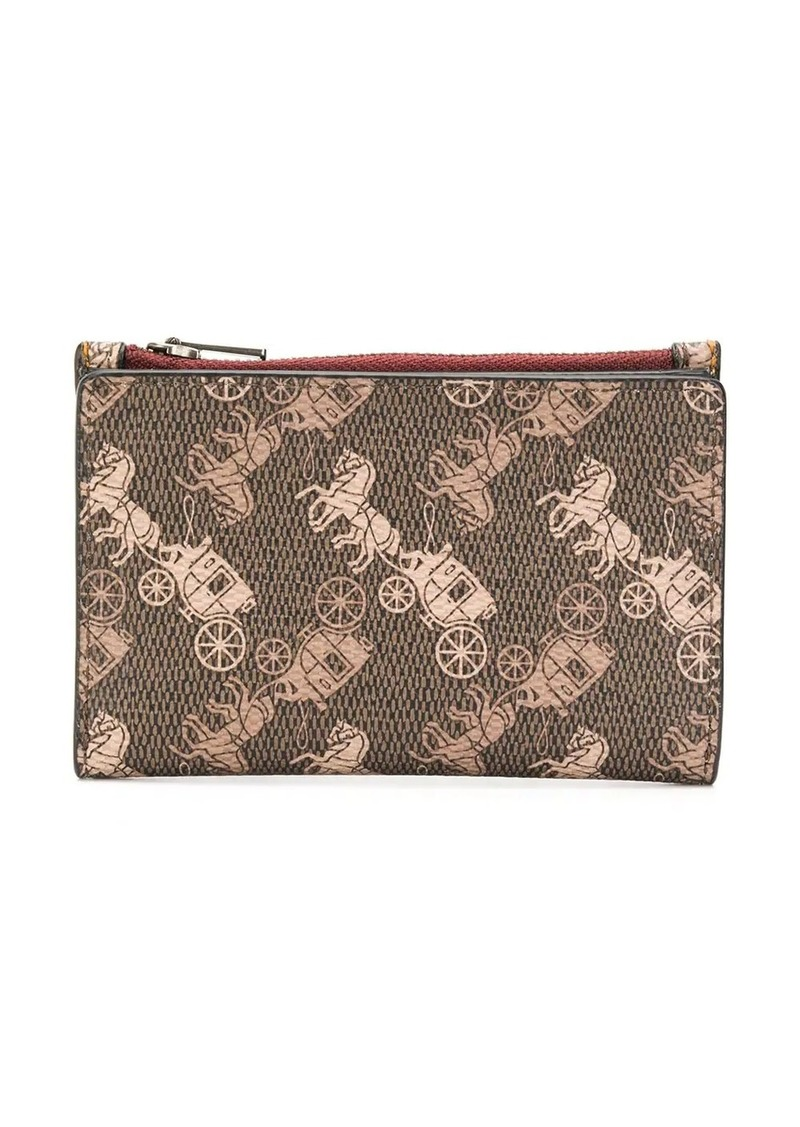 Coach all-over print wallet