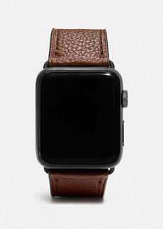 Coach apple watch® strap, 42mm