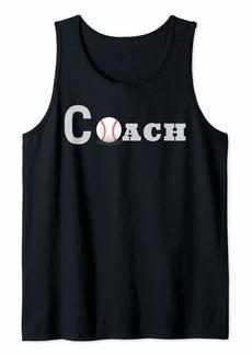 Baseball Coach  Tank Top