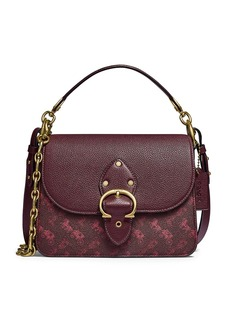 Coach Beat Horse & Carriage Coated Canvas Shoulder Bag