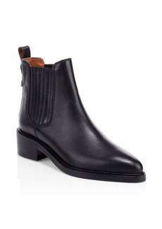 Coach Bowery Leather Booties