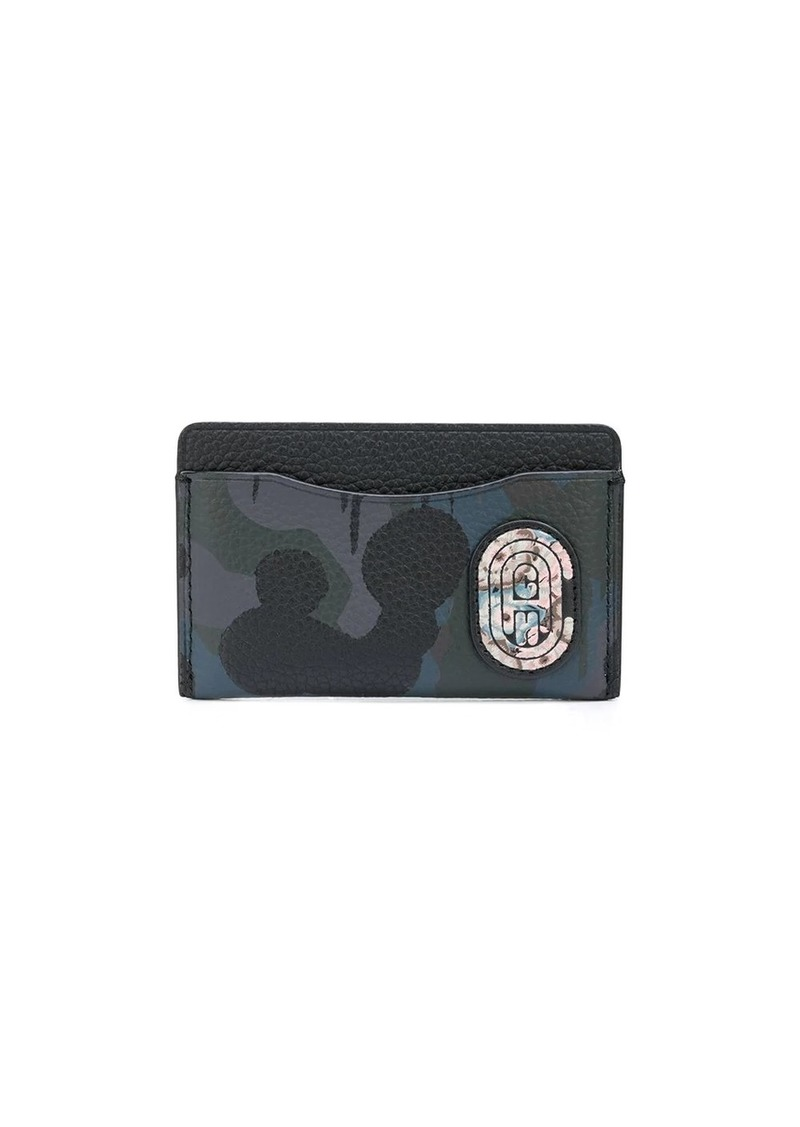 Coach camouflage-print cardholder