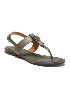 Coach Cassidy Leather T-Strap Sandal