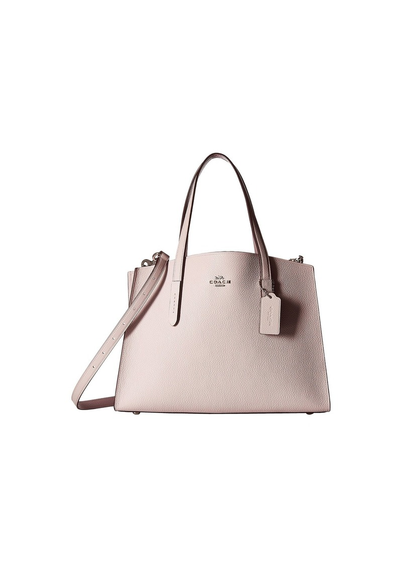 91d16707d SALE! Coach Charlie Carryall in Polished Pebble Leather