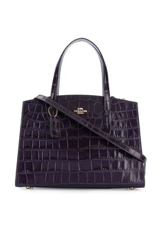 Coach Charlie croc-effect tote