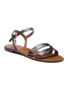 Coach Charm Leather Sandal