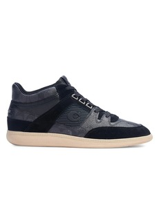 Coach CitySole Signature Mix Mid-Top Sneakers