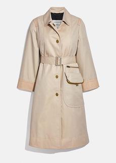 Coach classic cashin coat