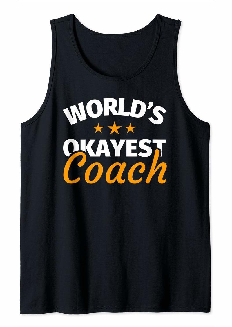 Coach - Funny Coach Gift Coach Humor Gifts Tank Top