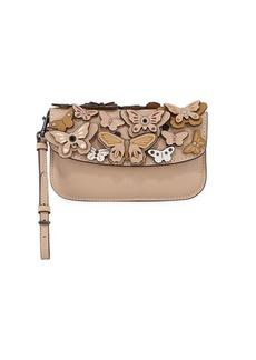 Coach 1941 Butterfly Large Wristlet Clutch Bag