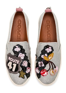 Coach 1941 Cherry Patches Slip On Sneaker