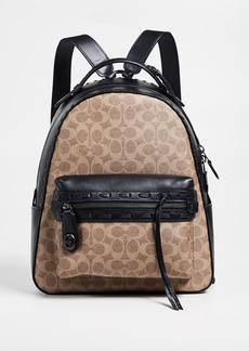 Coach 1941 Coated Canvas Signature with Whipstitch Canvas Backpack