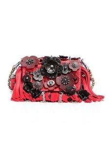 Coach 1941 Dinky 15 Tea Rose Fringe Shoulder Bag