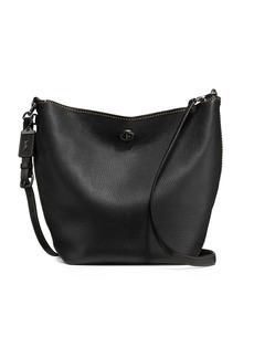 Coach Duffel Leather Bucket Bag