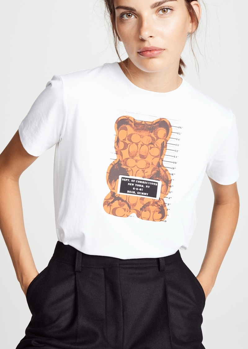 1fac1e7186 Coach Coach 1941 Gummy Bear T-shirt