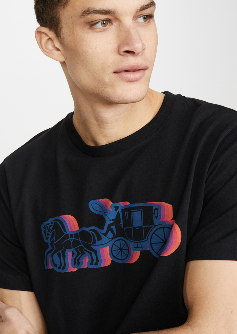 Coach 1941 Horse And Carriage Logo Tee