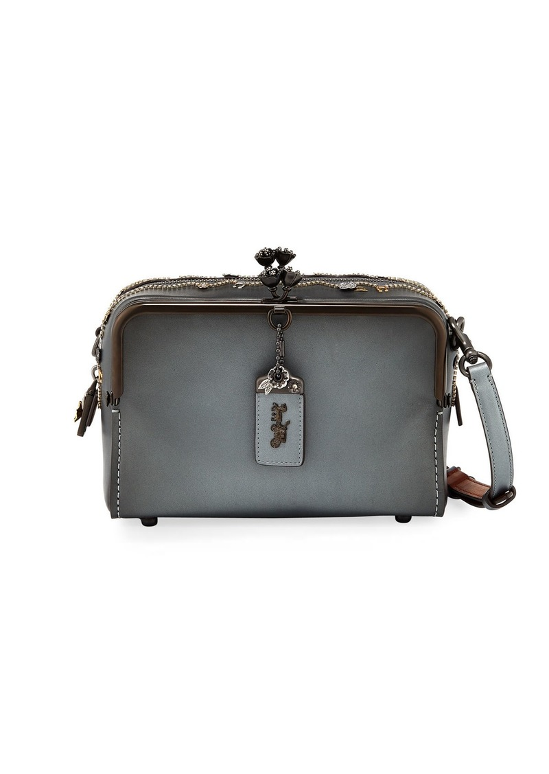 ff9c542f40e Coach Coach 1941 Mailbox Crystal-Embellished Shoulder Bag   Handbags
