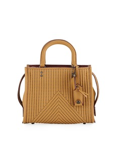 Coach Rogue 25 Quilted Tote Bag with Rivets