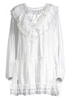 Coach 1941 Romantic Mini Tunic Dress