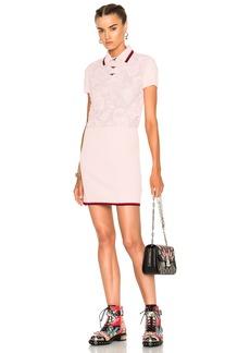 Coach 1941 Rose Lace Polo Sweater Dress
