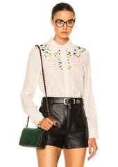 Coach 1941 Western Embellished Top