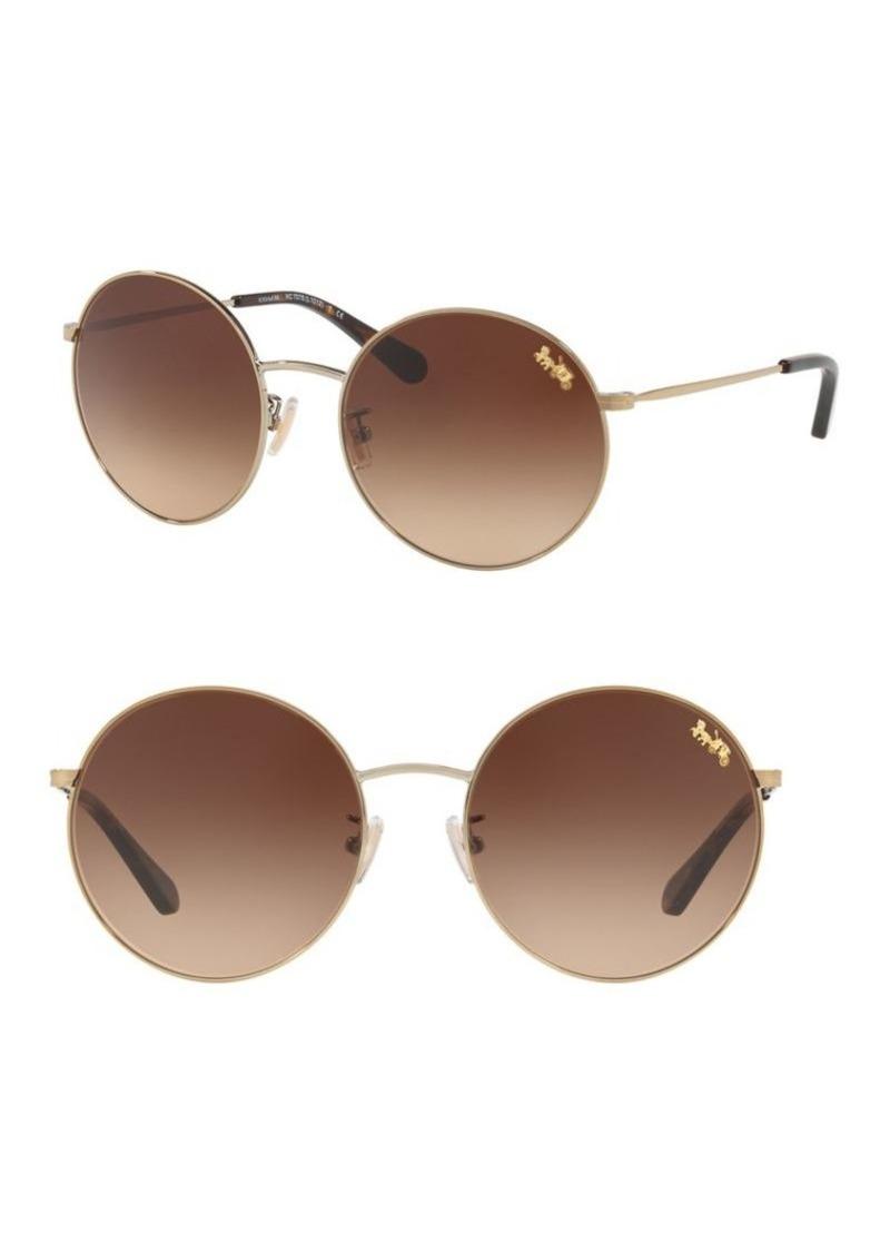 2686619f0e11 discount code for coach round sunglasses fca75 f0c55