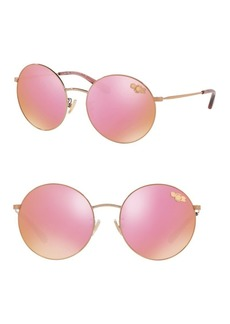 COACH 56MM Round Sunglasses