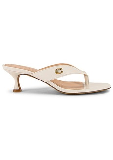 Coach Audree Leather Sandal