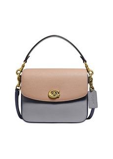 COACH Cassie Mini Colorblock Leather Crossbody Bag