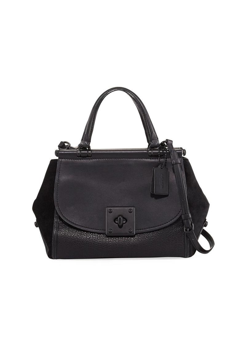 14c287c9c4 ... australia coach drifter large mixed leather carryall bag 99a70 8704e