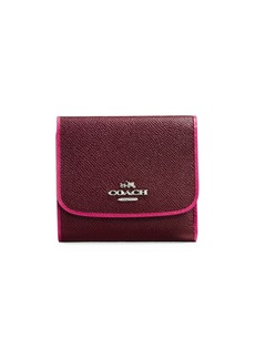 COACH Edgestain Leather Wallet