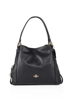 Coach Edie 31 Polished Pebble Leather Shoulder Bag