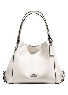 COACH Edie 31 Star Rivets Leather Shoulder Bag