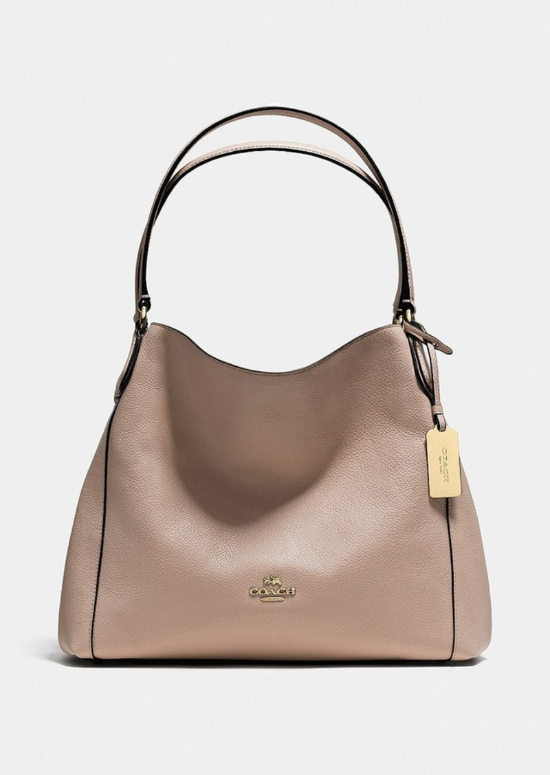 5dff5dafada2 Coach COACH EDIE SHOULDER BAG 31 IN REFINED PEBBLE LEATHER
